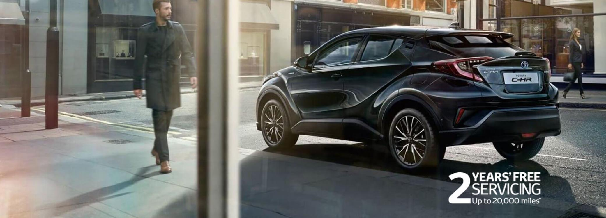 All New Toyota C-HR Hybrid models & features | Burrows (Barnsley)